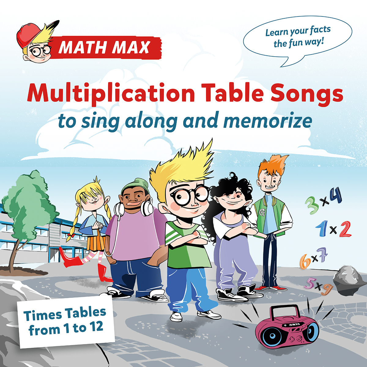 Times tables from 1 to 12 by math max get the new album gamestrikefo Image collections